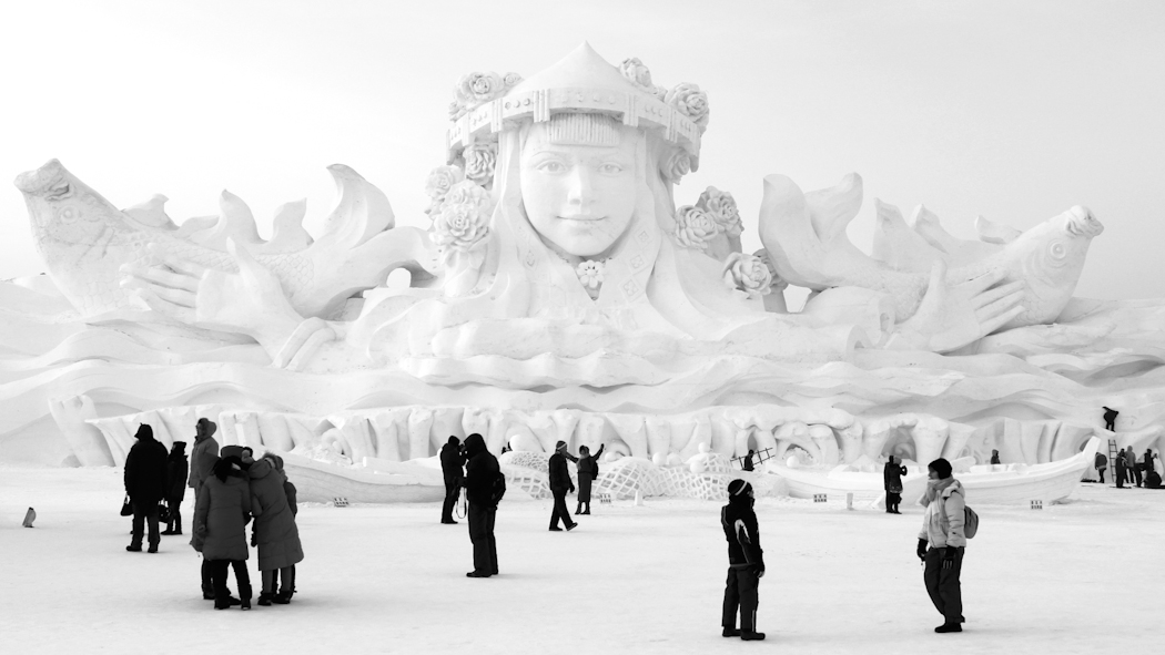 Harbin Ice Festival in China