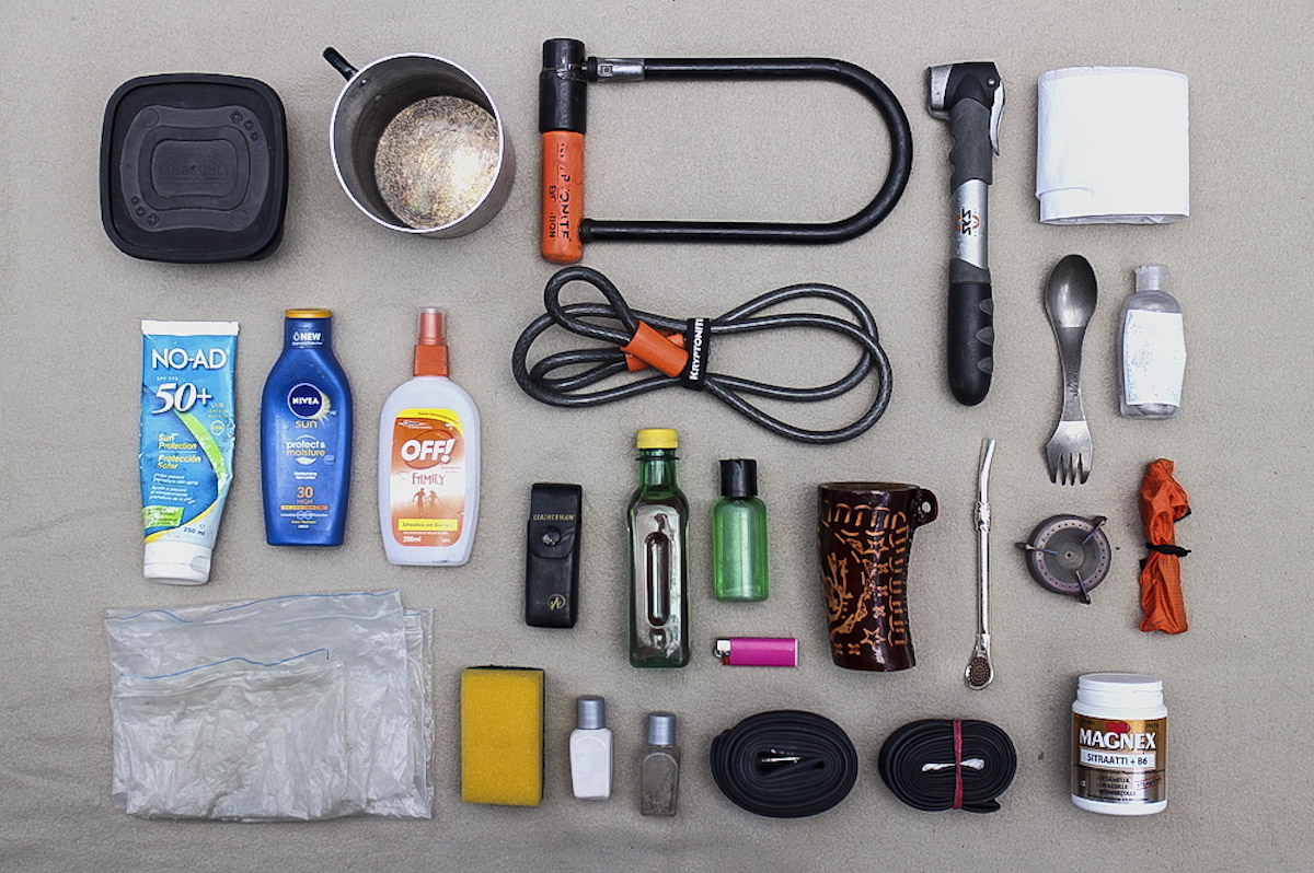 what to pack on a cycling trip