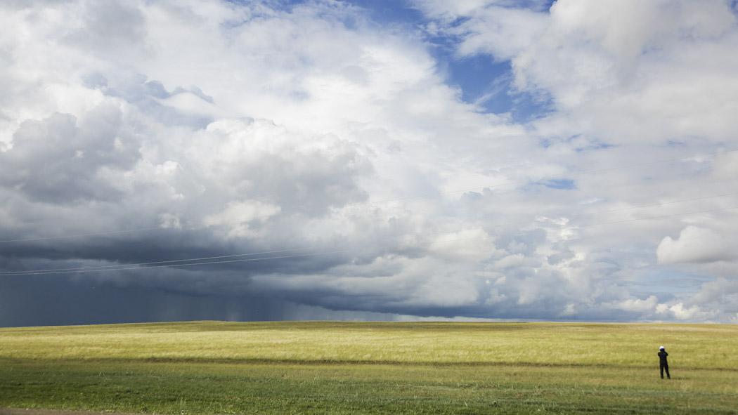 Kazakhstan steppe nuclear test plant