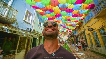 Agueda city of colourful umbrellas
