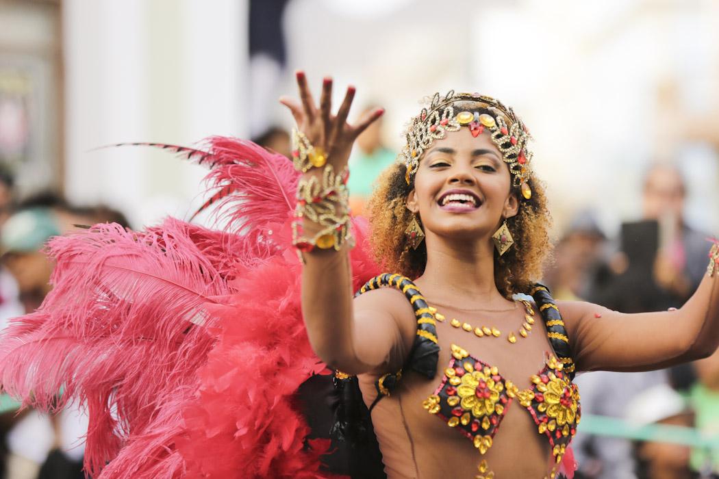 Carnival in São Vicente