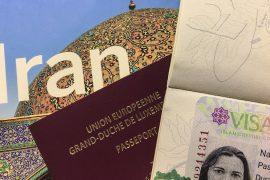 how to get an Iranian visa