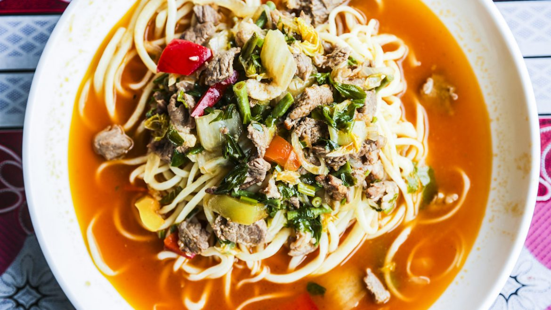 New kyrgyzstan food laghman