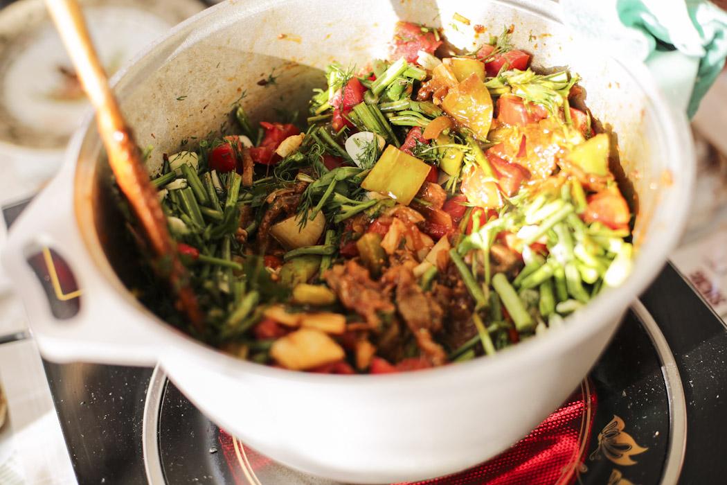 recipe Laghman kyrgyzstan