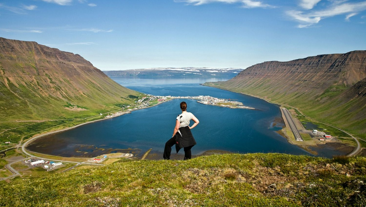 Th- view-over-Isafjordur