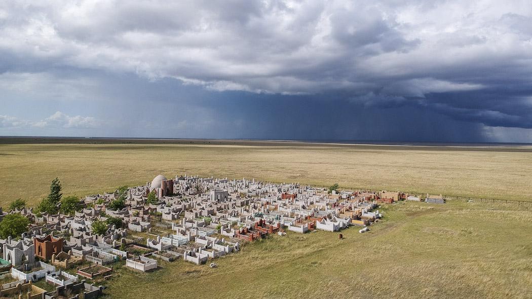 cemitery steppe