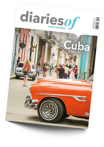 diariesof-Cuba-Travel-Magazine-Cover-Old-Timer-Almendrone-in-Havana
