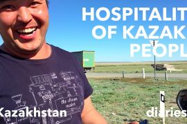 Kazakh hospitality – Kazakhstan (video)