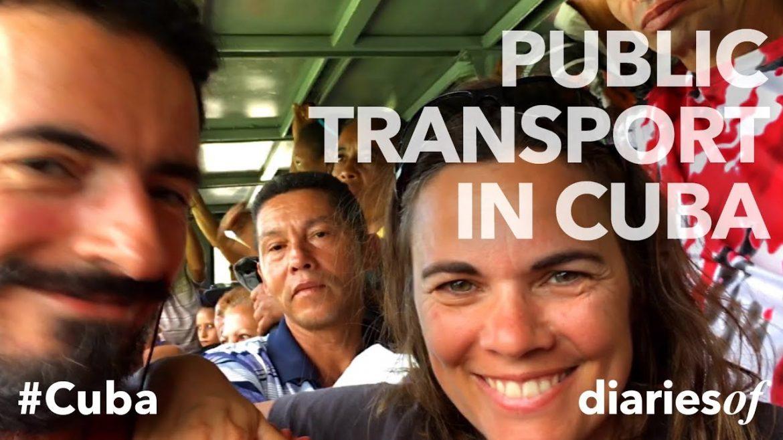 Getting around in Cuba (video)