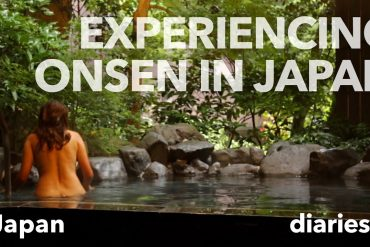 Japanese Onsens – natural hot springs (video)