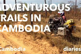 The road from Banlung to Siem Pang in Cambodia (with video)