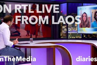 diariesof LIVE on RTL (with video)