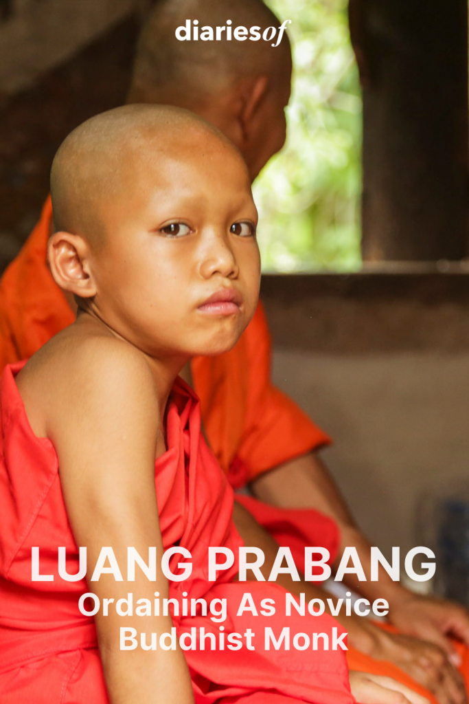 Ordaining As Novice Buddhist Monk