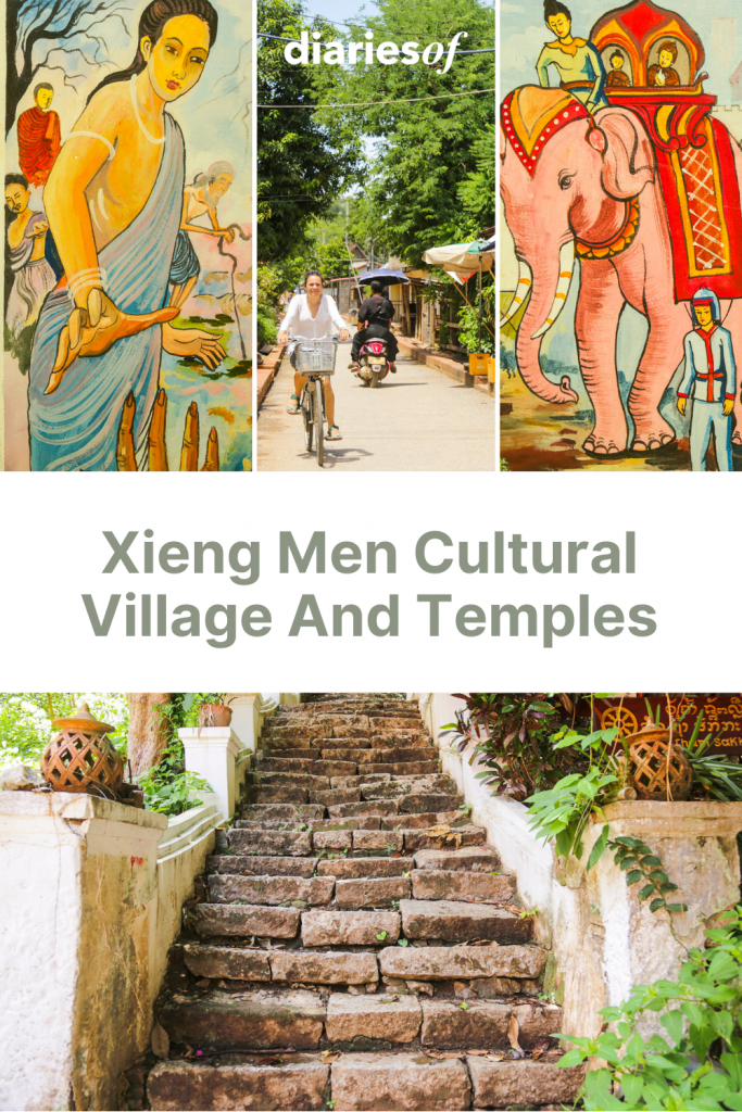 Xieng Men Cultural Village And Temples