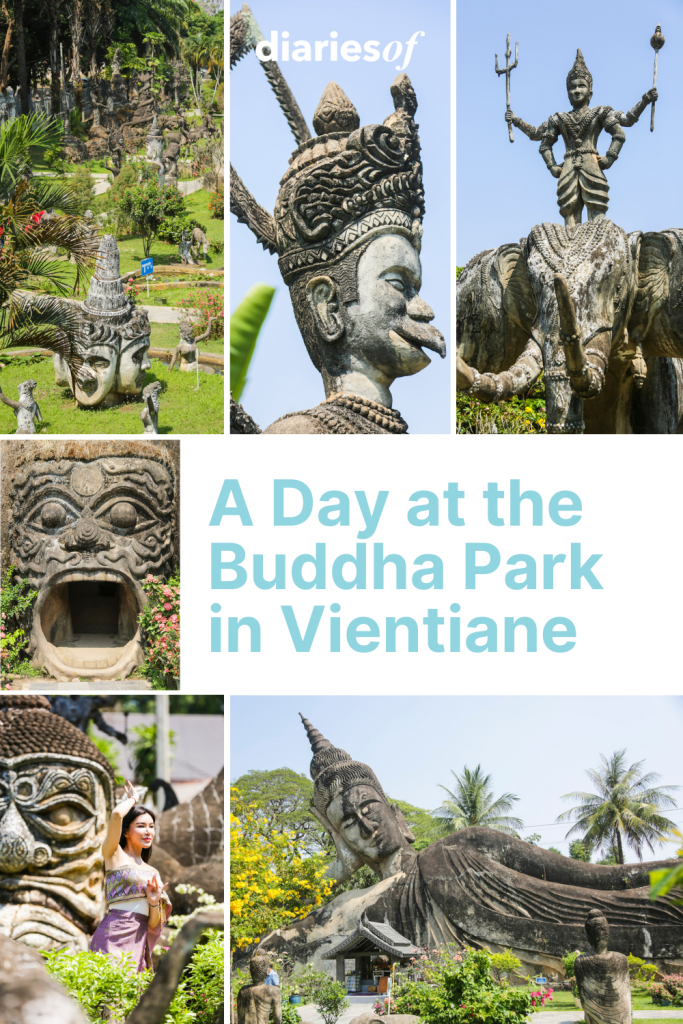 A Day at the Buddha Park in Vientiane