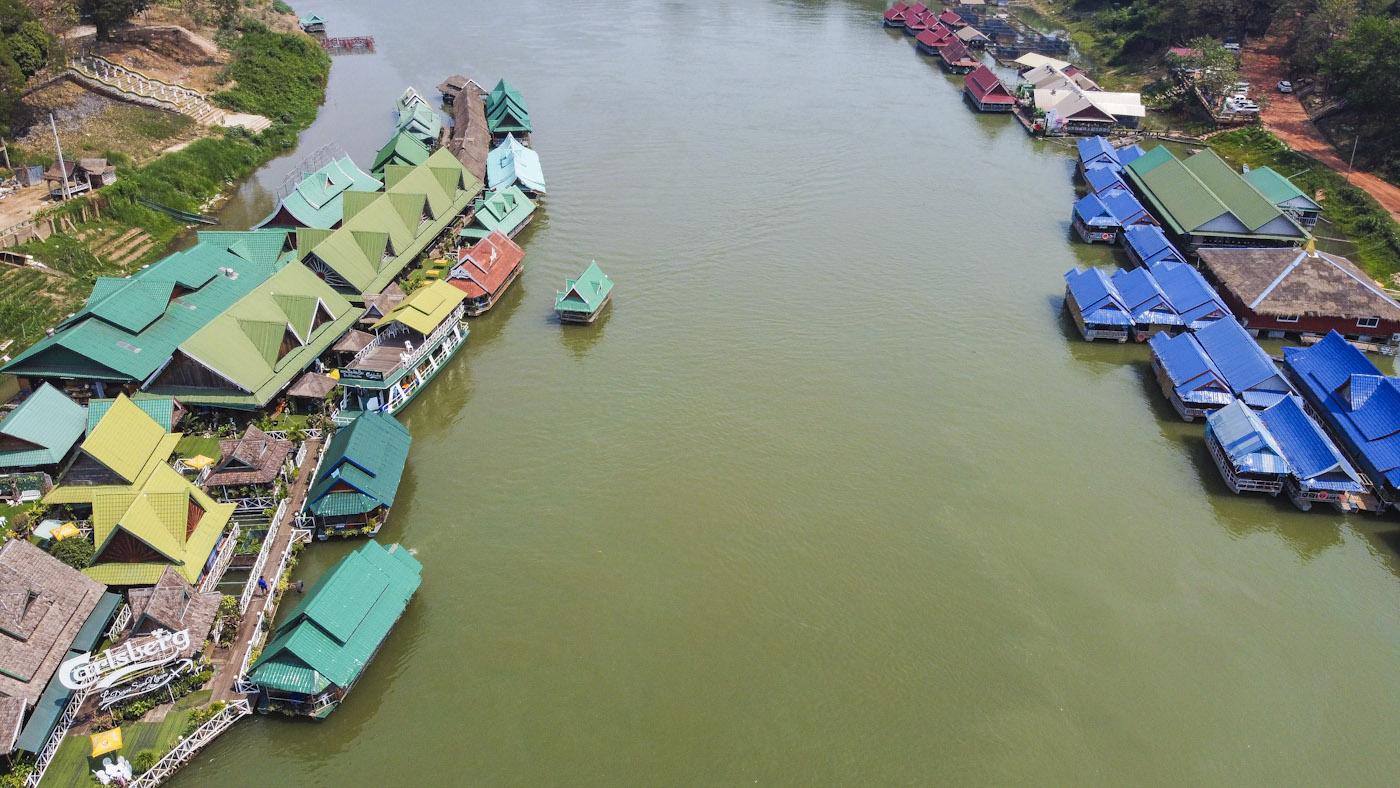 Tha Ngon Floating Restaurants_DJI_0484