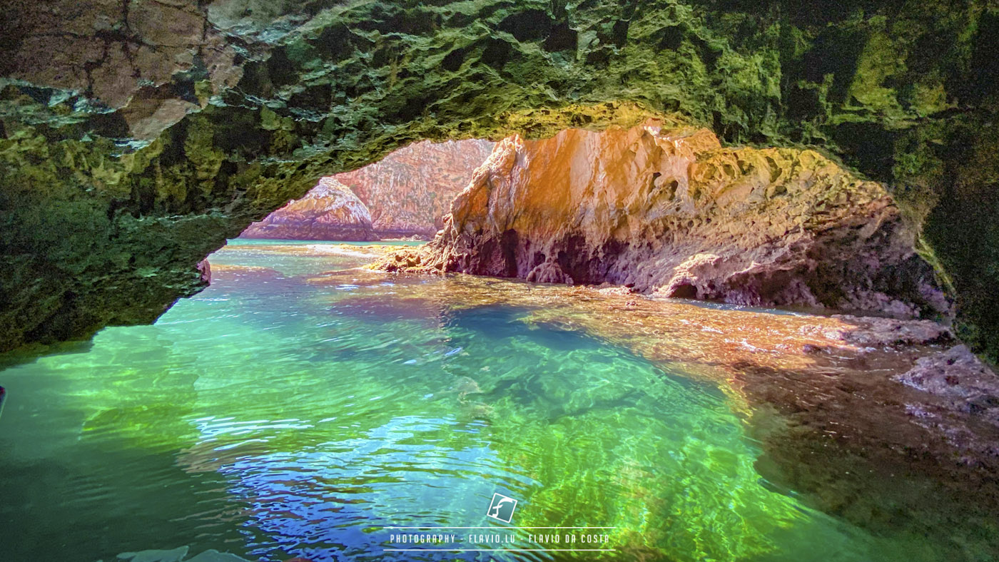 Berlengas rainbow cave