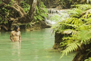 Kuang Si waterfall2