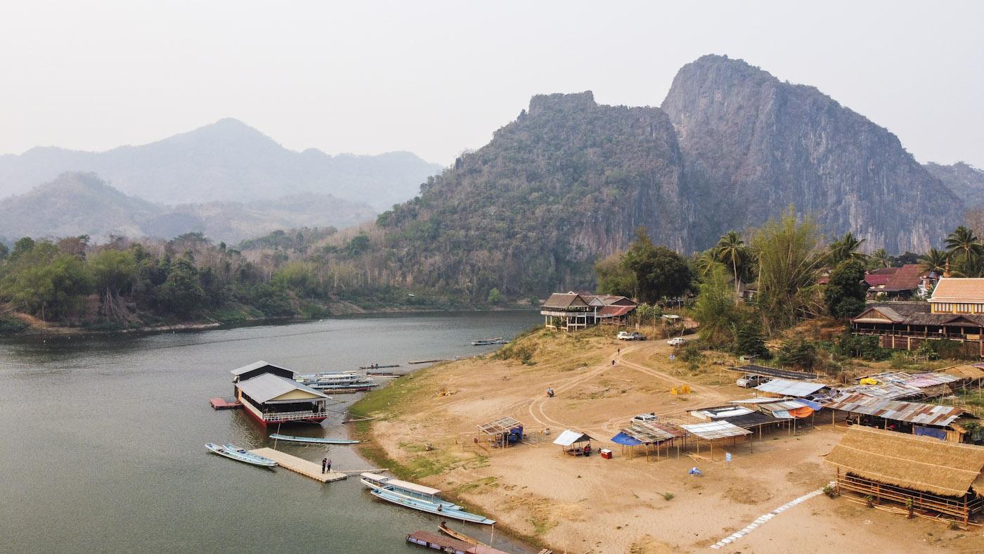 near Pak Ou Cave