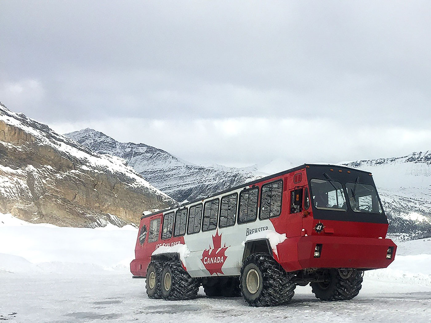 Athabasca Ice Explorer