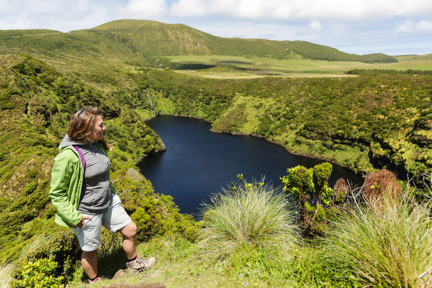 seven Lagoons in Flores Island Azores
