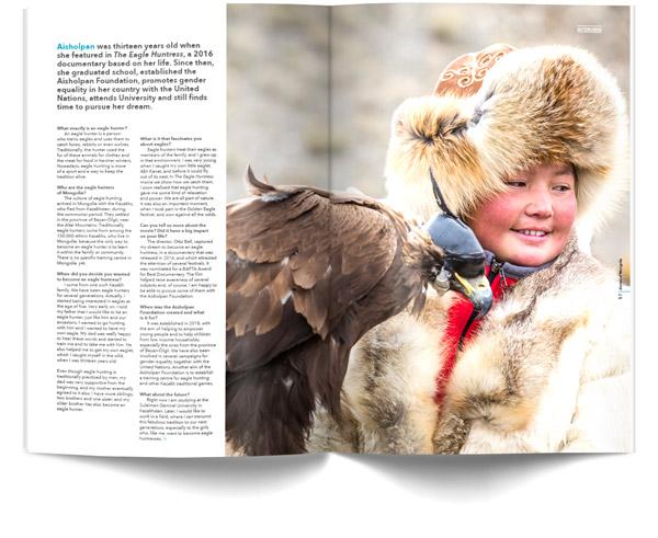 diariesof-Mongolia-Magazine-Eagle-huntress