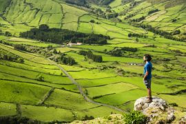 hikes and trails in Flores Island Azores